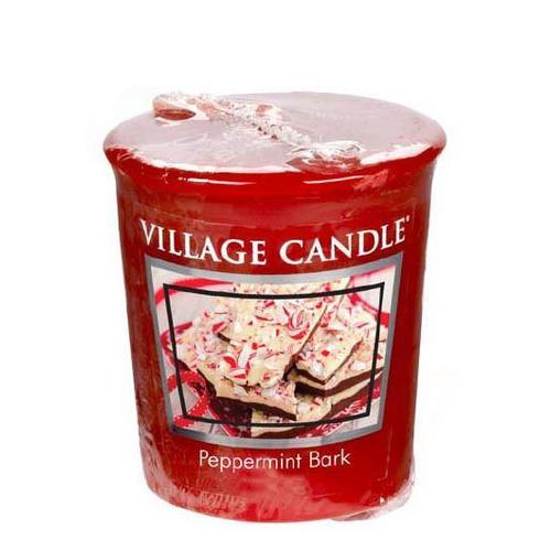 Village Candle Peppermint Bark 57g - votivní svíčka Mátové potěšení