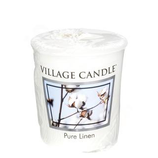 Village Candle Votivní svíčka Pure Linen 57g - Čisté prádlo