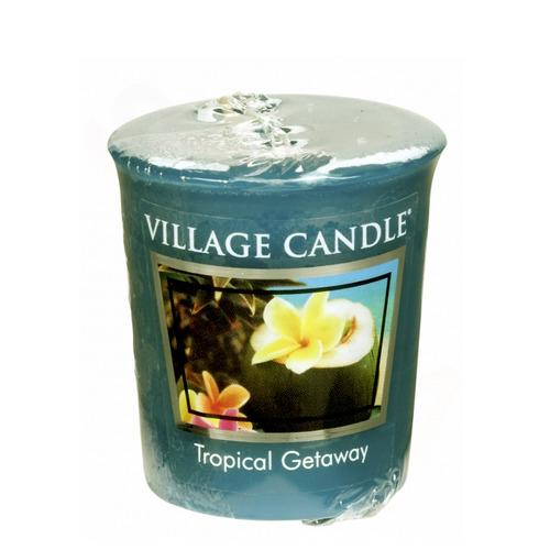 Village Candle Tropical Getaway 57g - votivní svíčka Víkend v tropech
