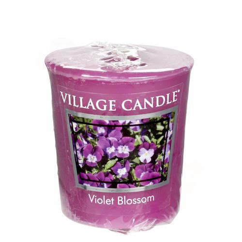 Village Candle Violet Blossom 57g - votivní svíčka Fialky