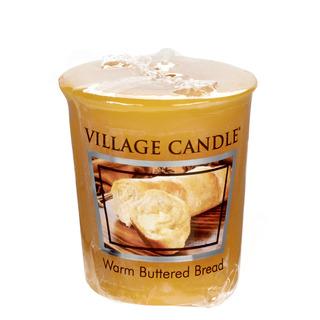Village Candle Votivní svíčka Warm Buttered Bread 57g - Teplé máslové houstičky