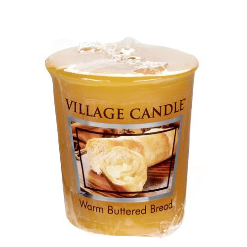 Village Candle Warm Buttered Bread 57g - votivní svíčka Teplé máslové houstičky