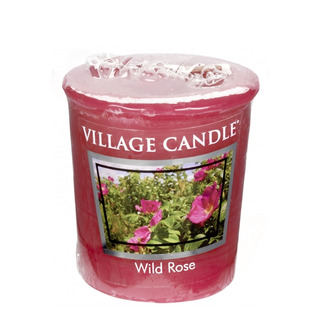 Village Candle Votivní svíčka Wild Rose 57g - Divoká růže