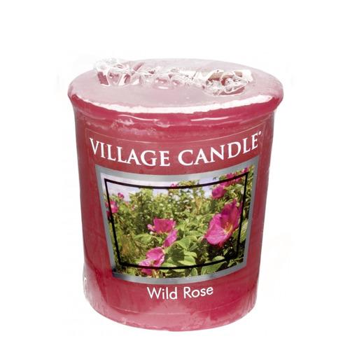 Village Candle Wild Rose 57g - votivní svíčka Divoká růže
