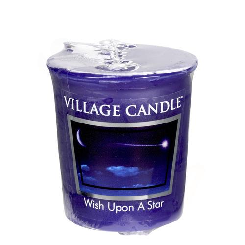 Village Candle Wish Upon A Star 57g - votivní svíčka Padající hvězda