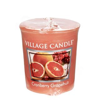 Village Candle Votivní svíčka Cranberry Grapefruit 57g - Brusinka a grapefruit