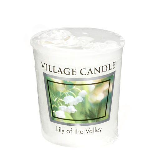 Village Candle Lily of the Valley 57g - votivní svíčka Konvalinka