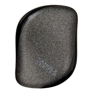 Tangle Teezer Černý kompaktní kartáč Black Sparkle