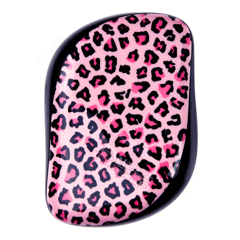 Tangle Teezer CS-PL-010615 Růžový leopardí kompaktní kartáč