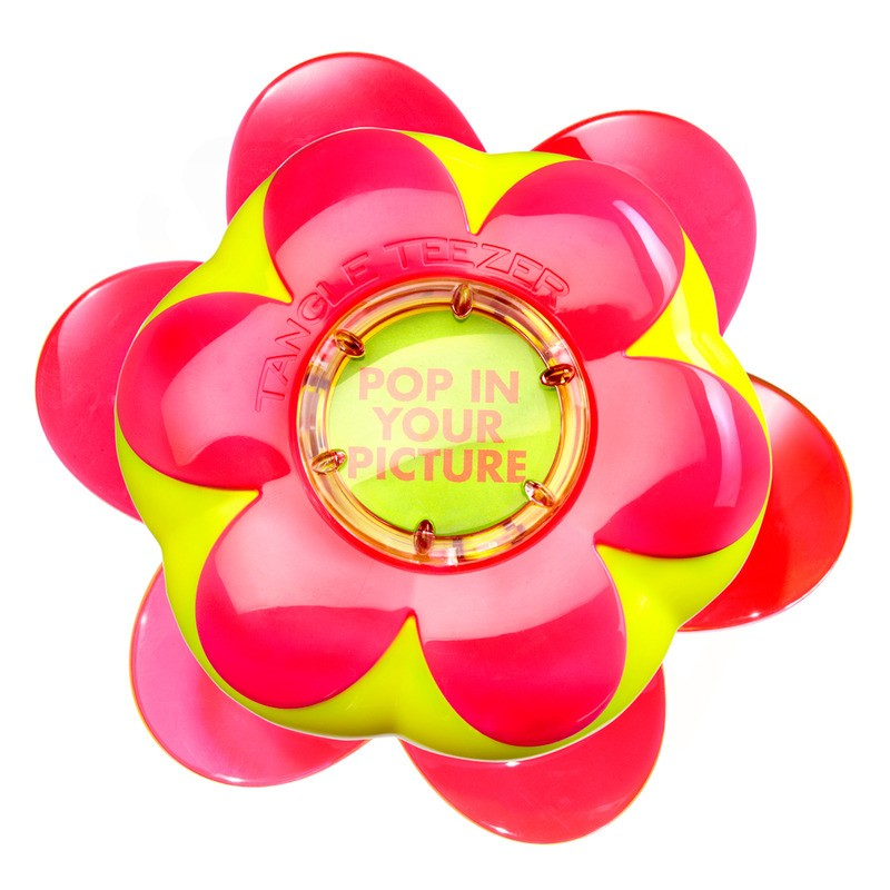 Tangle Teezer FP-PR-011212 Žlutý kartáč v růžovém květináčku