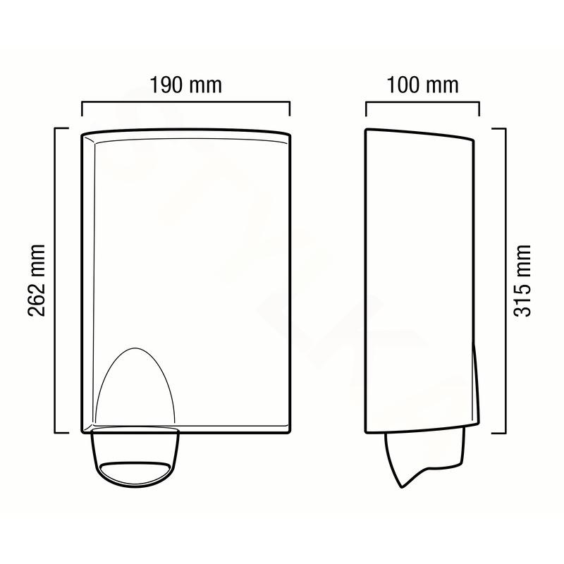 Valera 831.01 Handy elektrický vysoušeč rukou