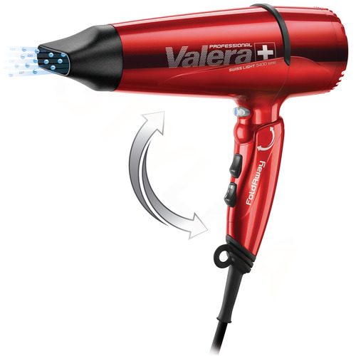 Valera SL 5400T Swiss Light 5400 Fold-away Ionic Red fén na vlasy